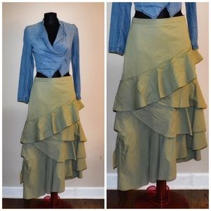 Beautiful asymmetrical skirt by Banana Republic